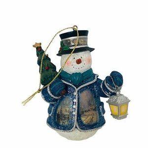 Thomas Kinkade Christmas Ashton Drake ornament art